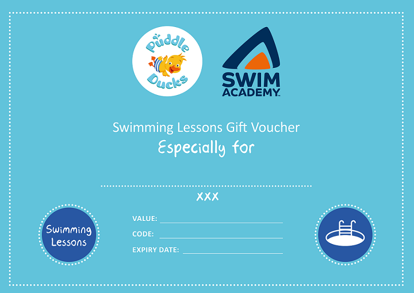Swimming Lessons Gift Voucher
