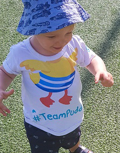 Puddle Ducks Kid's T-Shirt