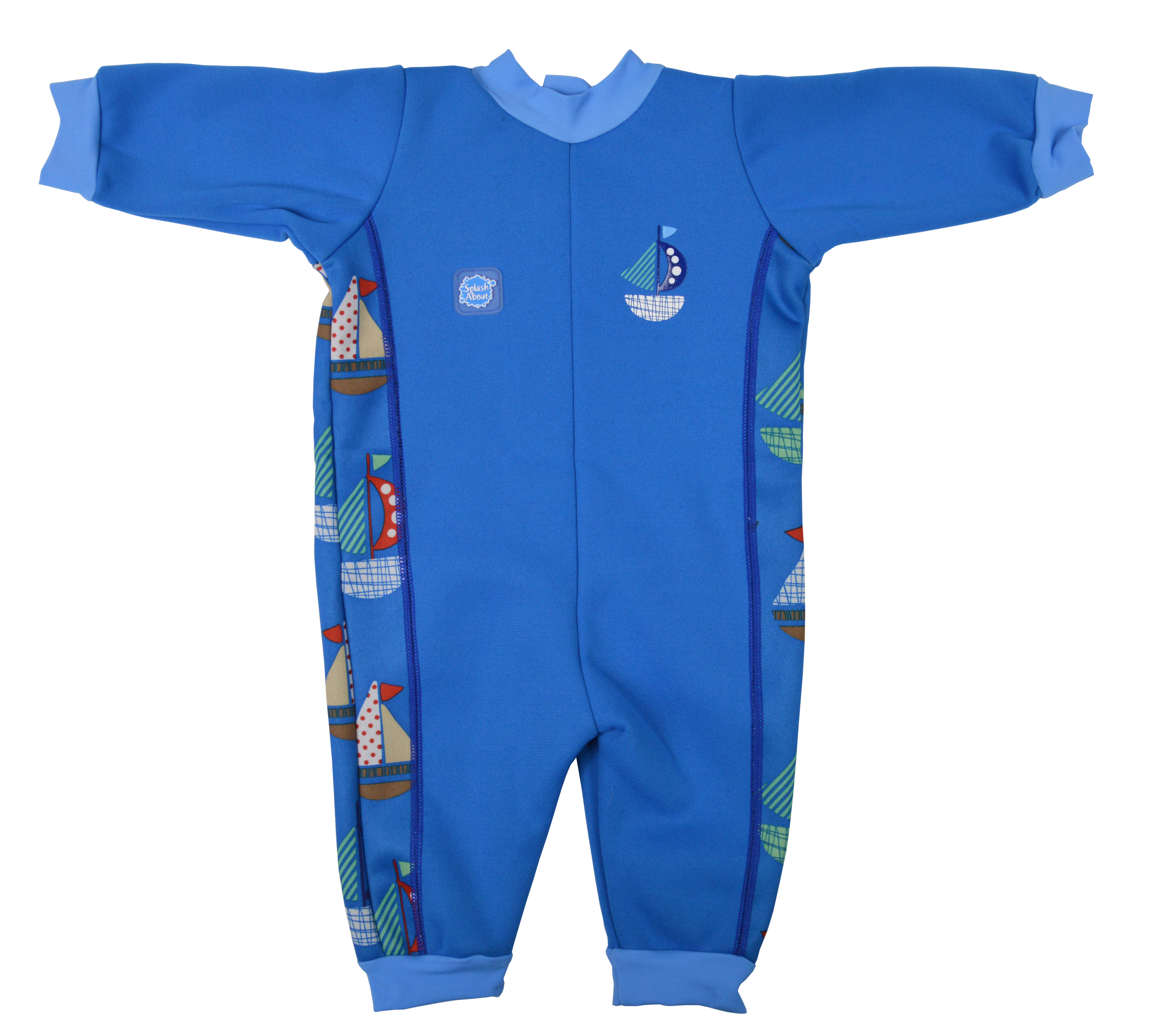 WarmInOne Baby Wetsuit - boat print