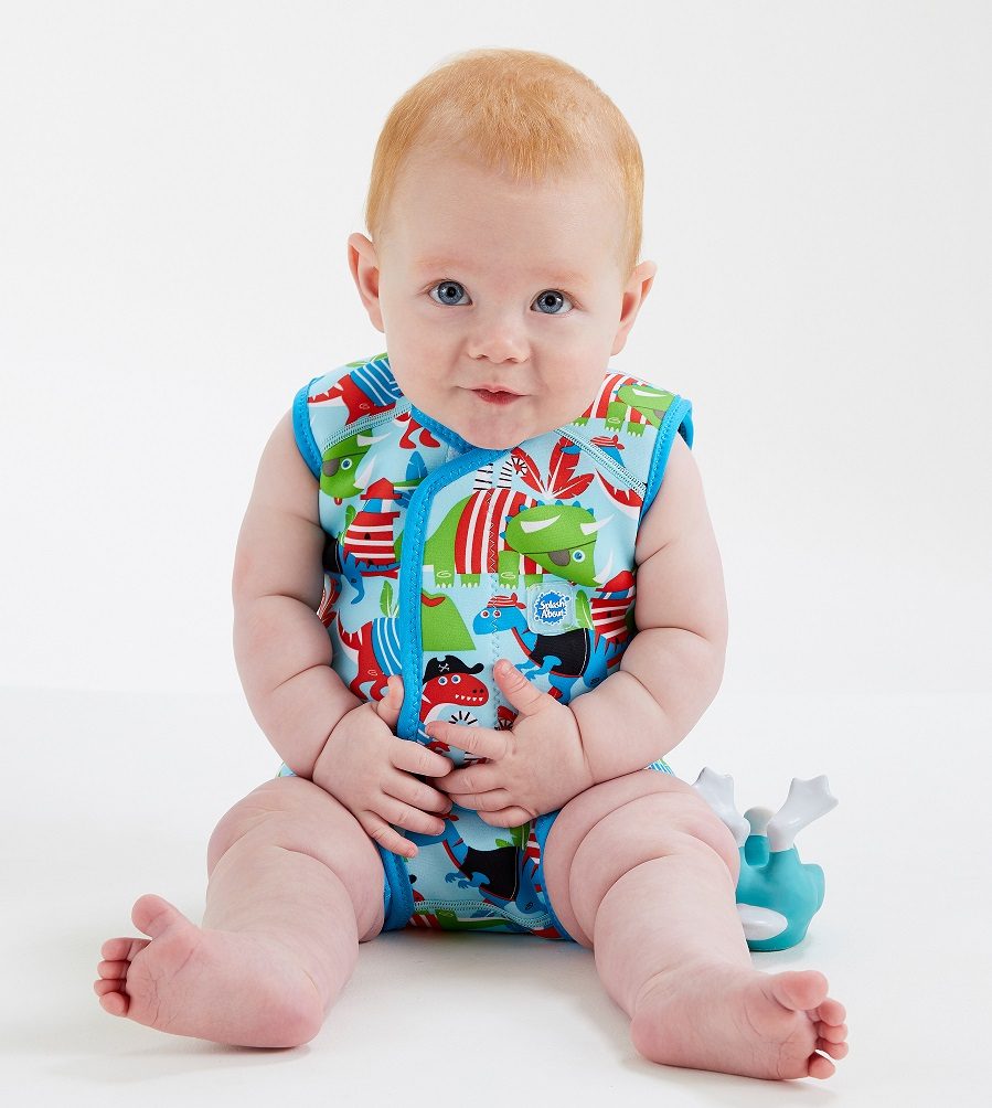 Baby Wrap Wetsuit - dino pirates