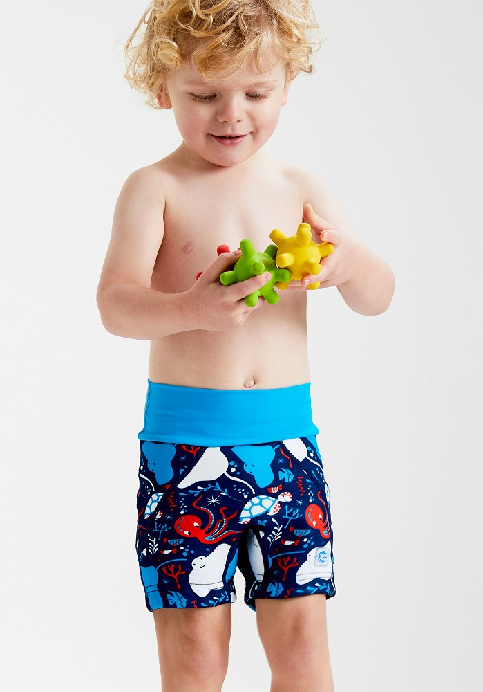 Jammers Swim Nappy - sea print