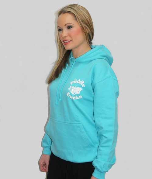 Puddle Ducks Adult's Hoodie