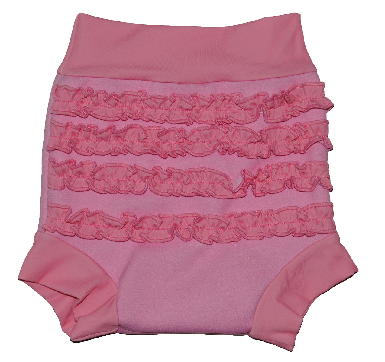Happy Nappy - pink frills