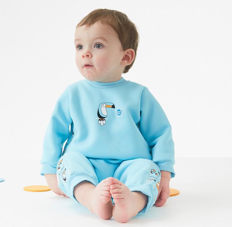 Splash About Warm in One Fleece lined Baby WetsuitNoah/'s Ark