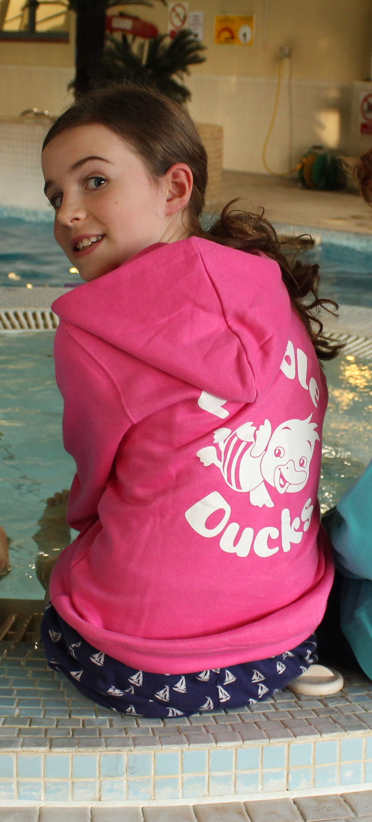 Puddle Ducks Kid's Hoodie